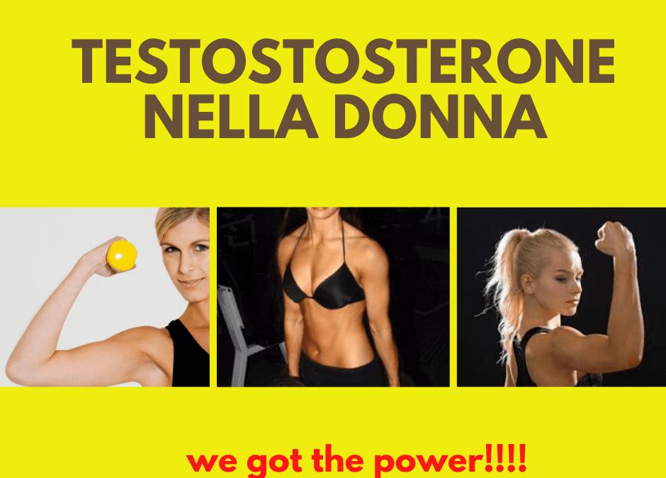 Testosterone nella donna